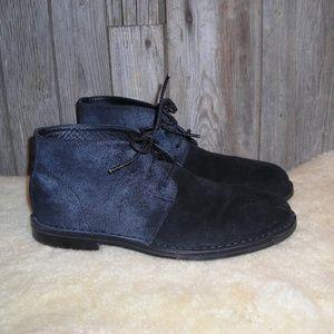Cole Haan black Glenn chukka boots mens 9.5 M